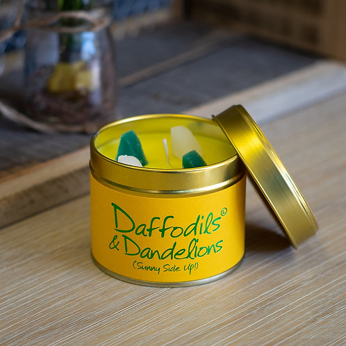 Daffodils & Dandelions Lily-Flame Candle