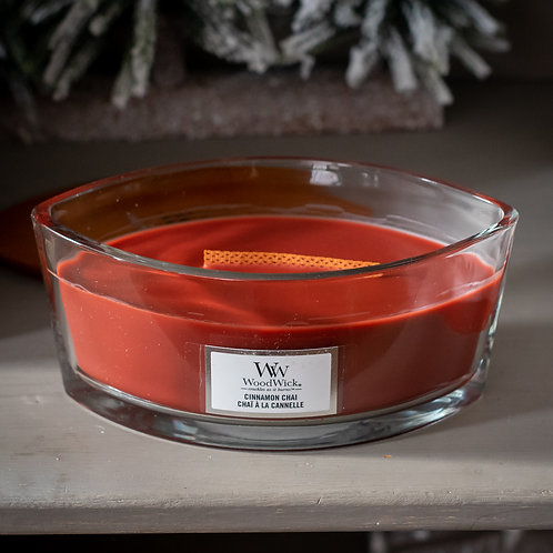 Woodwick Cinnamon Chai Oval Candle