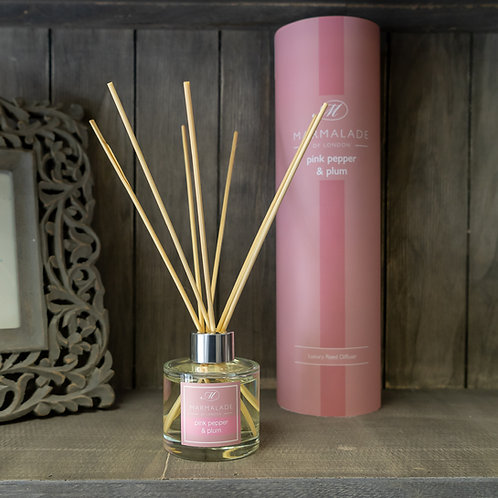 Pink Pepper & Plum Large Diffuser by Marmalade