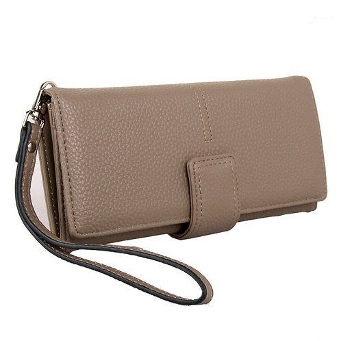 Taupe Purse by Red Cuckoo London
