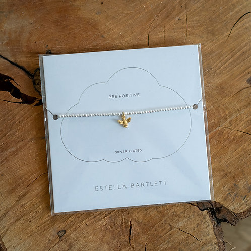 Bee Positive Bracelet - Gold and Silver Plated