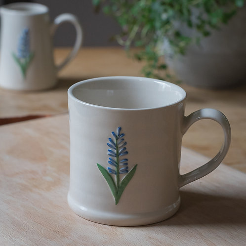 Ceramic Mini Mug - Lavender Design