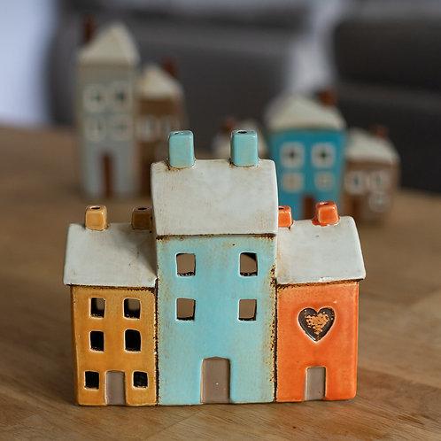 Ceramic Tea Light Houses