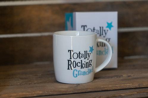 Totally Rocking Grandad Mug