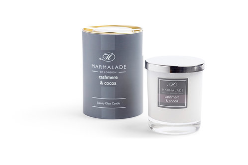 Cashmere & Cocoa Large Candle by Marmalade