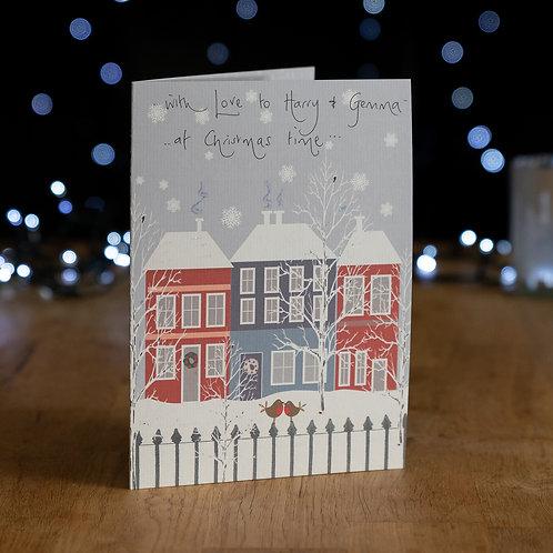 Snowy Houses Design