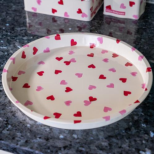 Emma Bridgewater - Pink Hearts Circular Tray