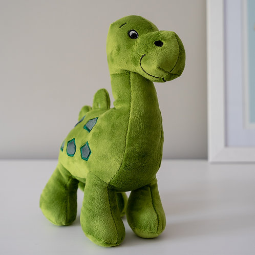 Dino Green Soft Toy