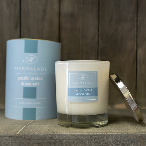 Pacific Orchid & Sea Salt Large Candle by Marmalade