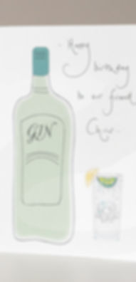 Gin Bottle and Glass Card M.jpg