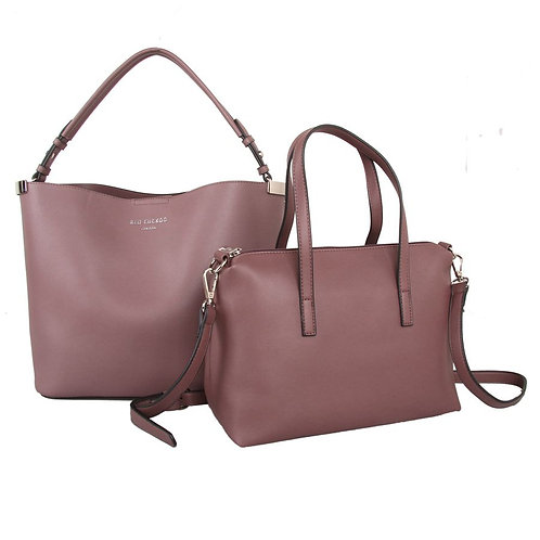 Dusky Purple Bag in a Bag by Red Cuckoo London