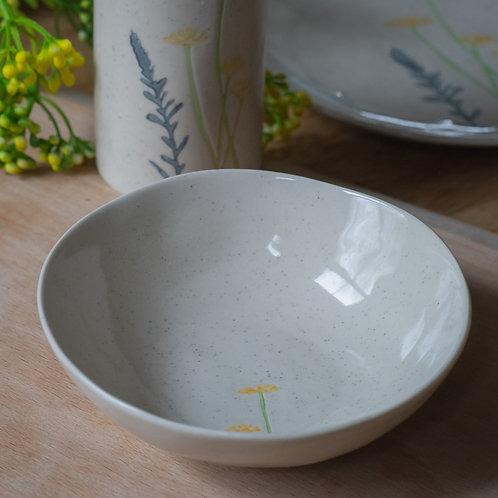 Ceramic Mini Bowl - Yellow Daisy