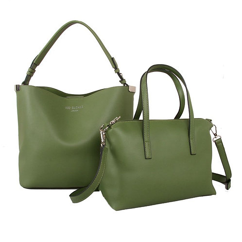 Green Bag in a Bag by Red Cuckoo London