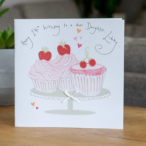 Cupcakes Design - Large Card