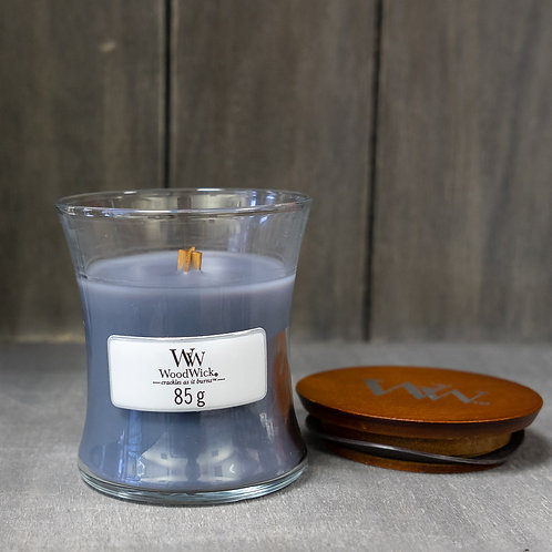 Woodwick Evening Onyx Small Candle