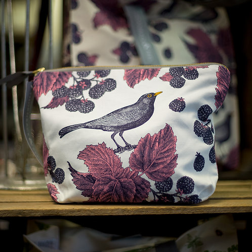 Blackbird Wash Bag by Thornback & Peel