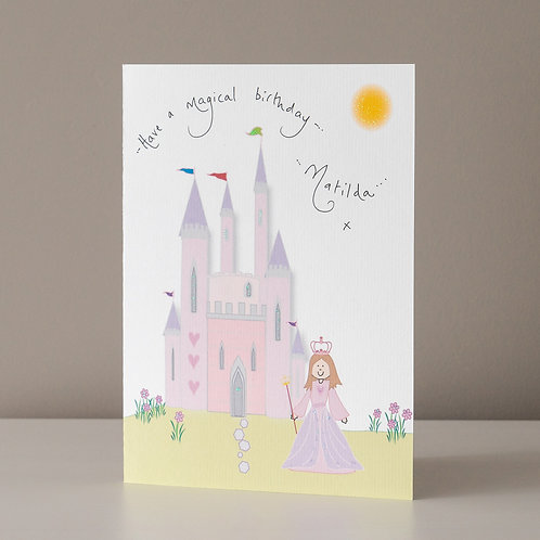 Fairytale Princess and Castle - Medium
