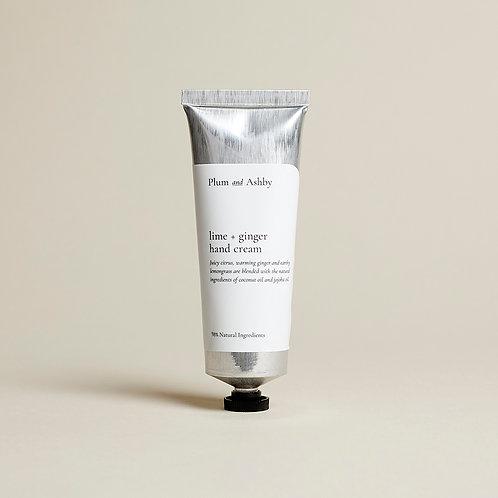 Plum & Ashby Lime & Ginger Hand Cream