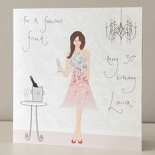 Cocktail Party Design - Large Card