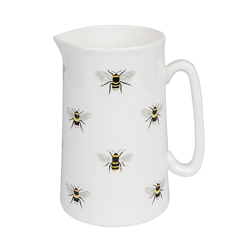 Multi Bee Medium Jug by Sophie Allport