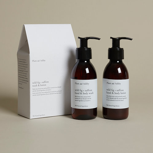 Plum & Ashby Gift Set Wild Fig & Saffron