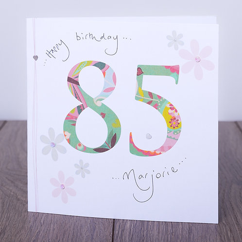 85th Birthday Floral