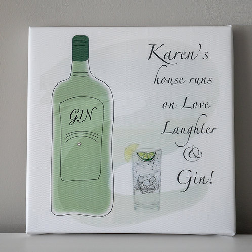 Gin Canvas