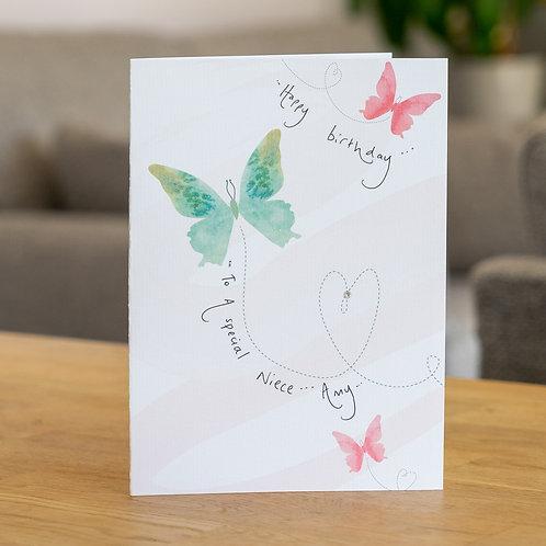 Watercolour Butterflies Design