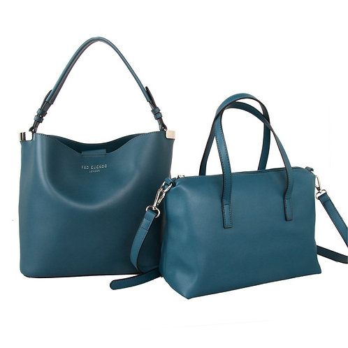 Emerald Bag in a Bag by Red Cuckoo London