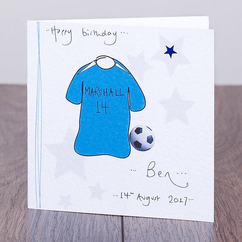 Football Shirt - Blue