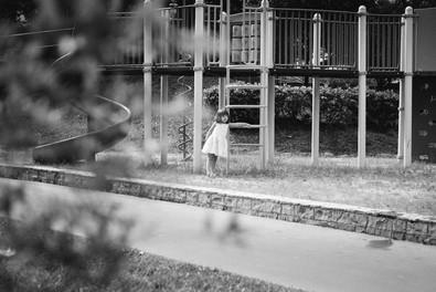 Child at HDB playground