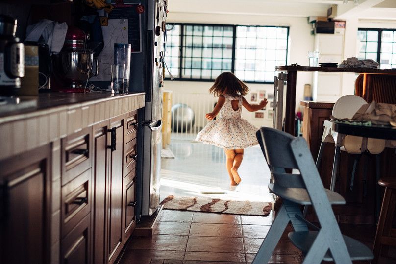 Girl dancing free