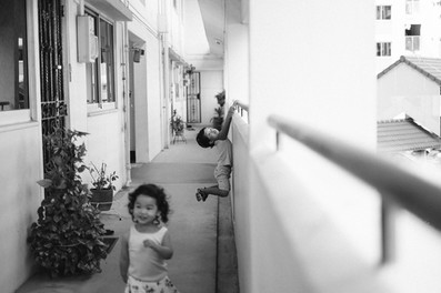 Documentary style capturing children at play