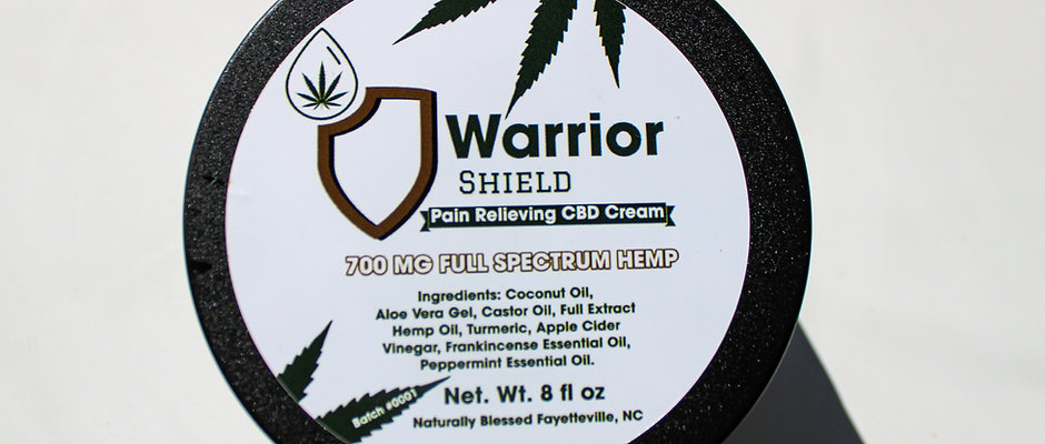 Pain Relieving CBD Cream