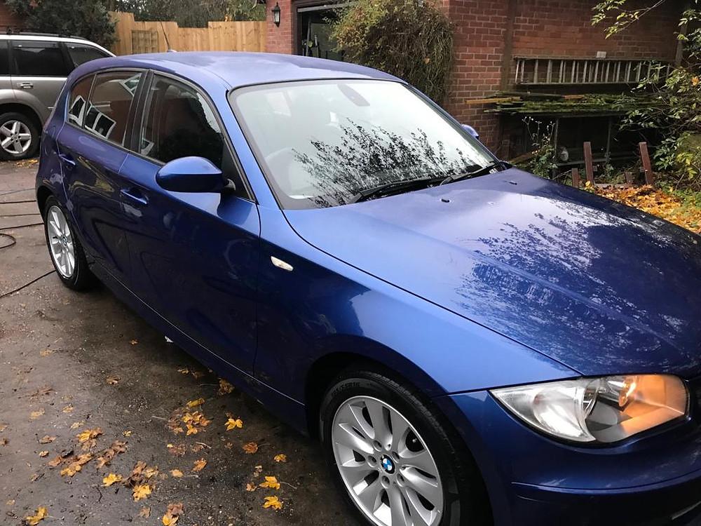 2008 BMW 1 series - Ipswich Car Valet