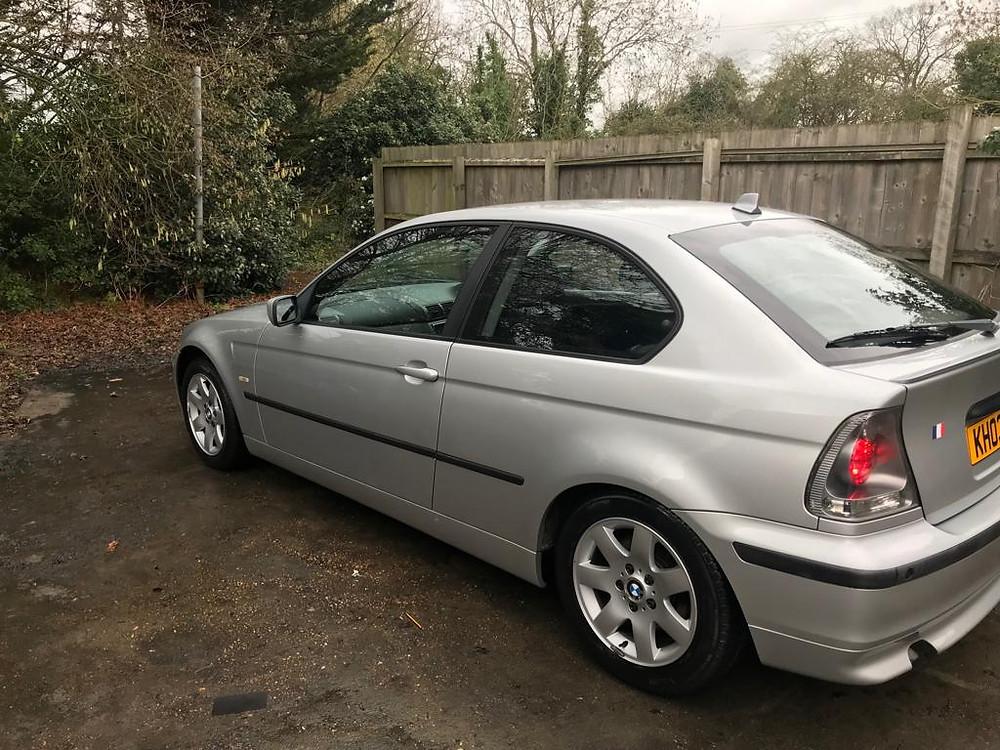 2008 BMW compact - Ipswich Car Valet