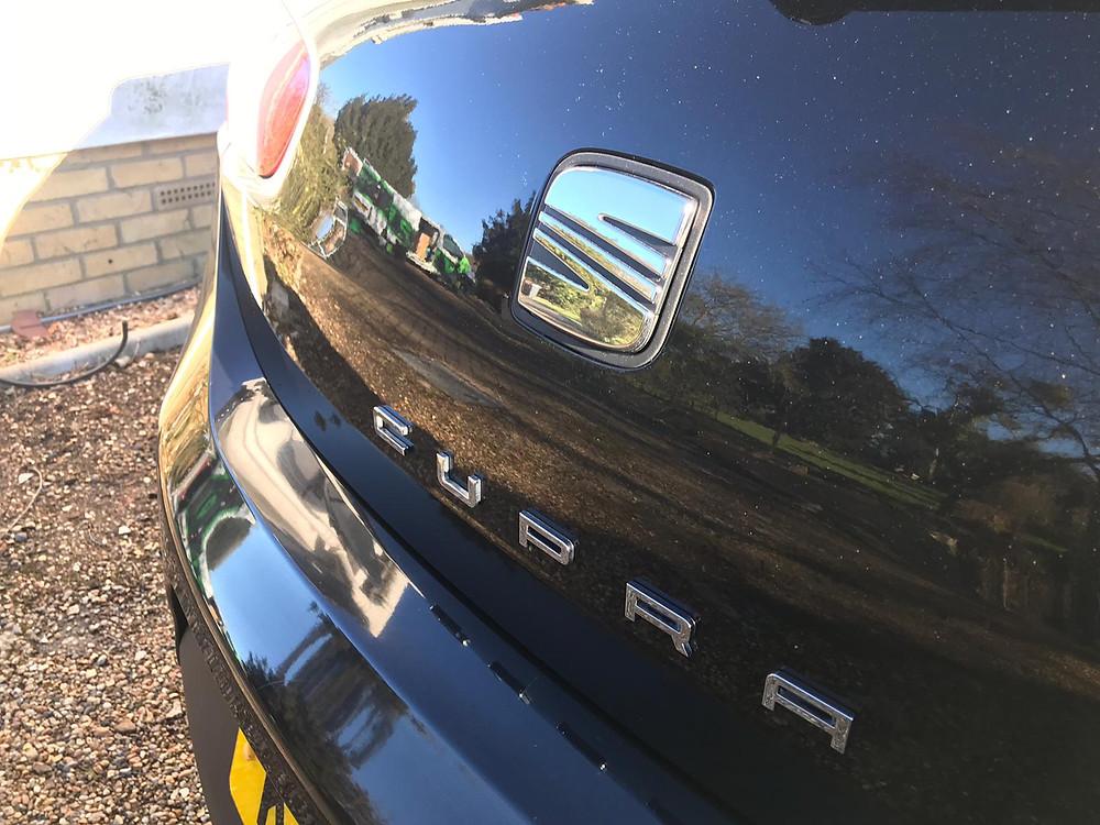 Suffolk Essex Norfolk Car Valet - 2010 SEAT CUPRA