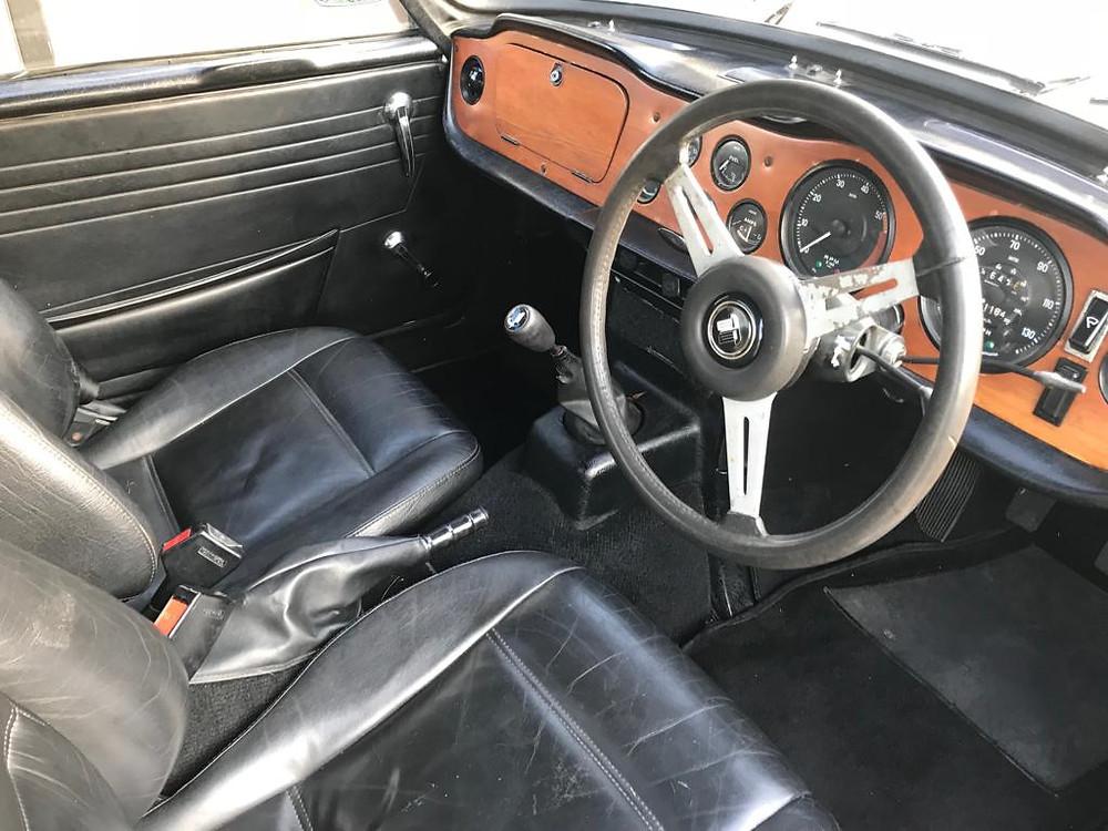 1972 TR6 - Car Valet Ipswich