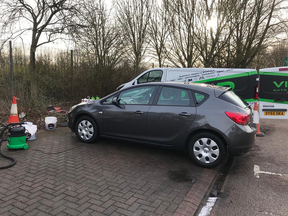 Three pool cars - Ipswich Car Valet