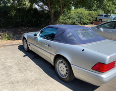 Valeting Ipswich - Classic Mercedes-Benz SL