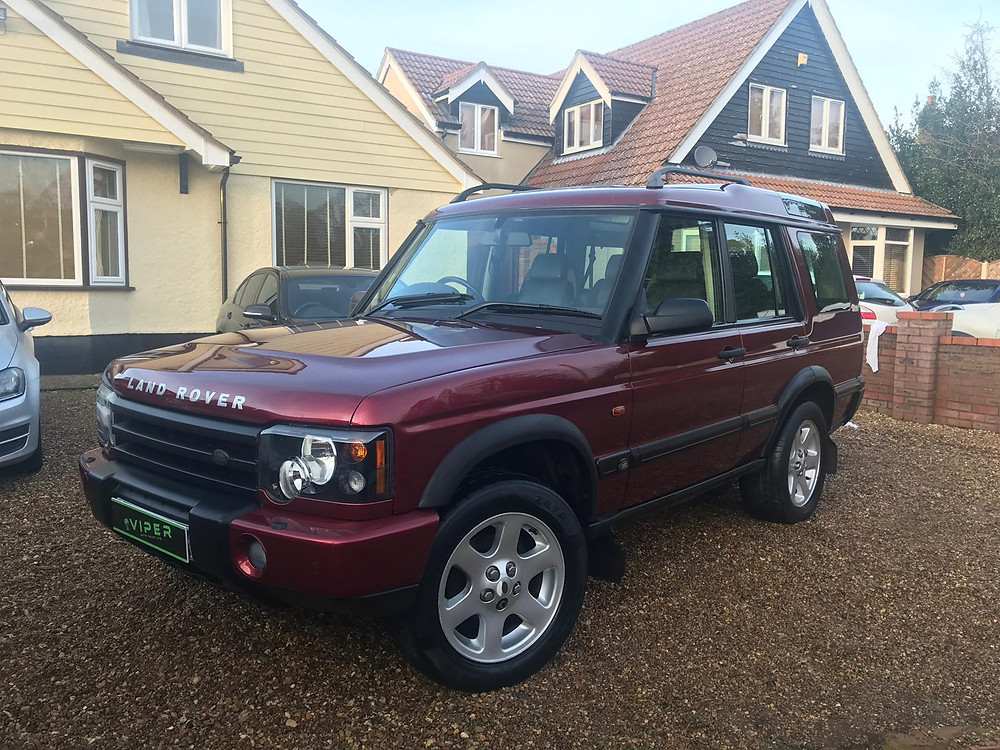 2002 Landrover Discovery Auto Valet Ipswich