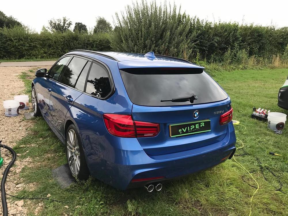 2018 BMW 335d - Car Valet Ipswich