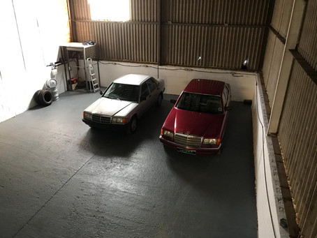 The Detailing Barn is Almost Ready For Business!