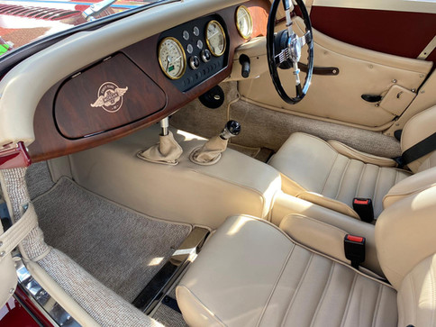 Classic Car Valeting in Woodbridge - Morgan