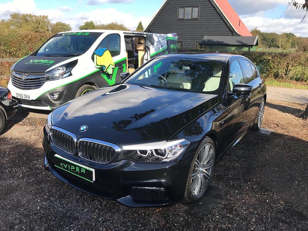 2018 BMW 540i - Car Valet Suffolk