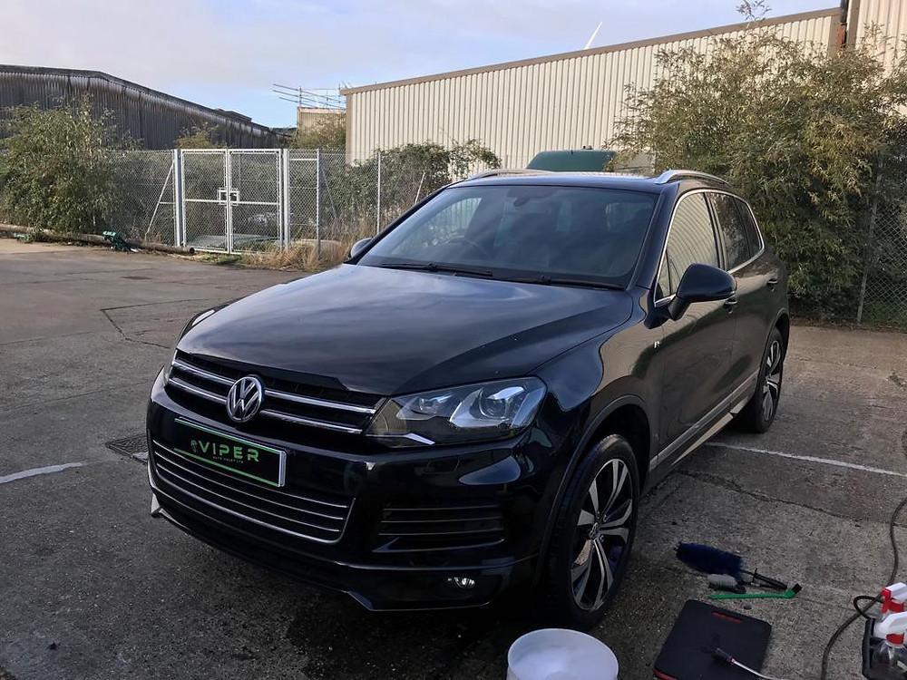 2014 VW Touareg - Car Valet Ipswich