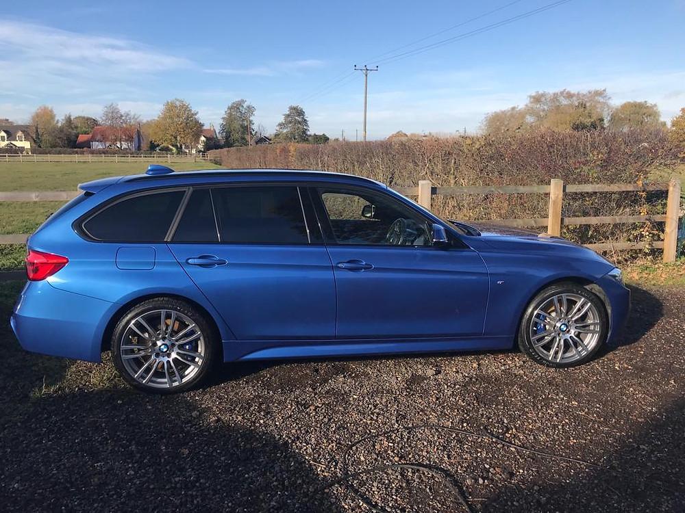 2018 BMW 335d - Ipswich Car Valeting