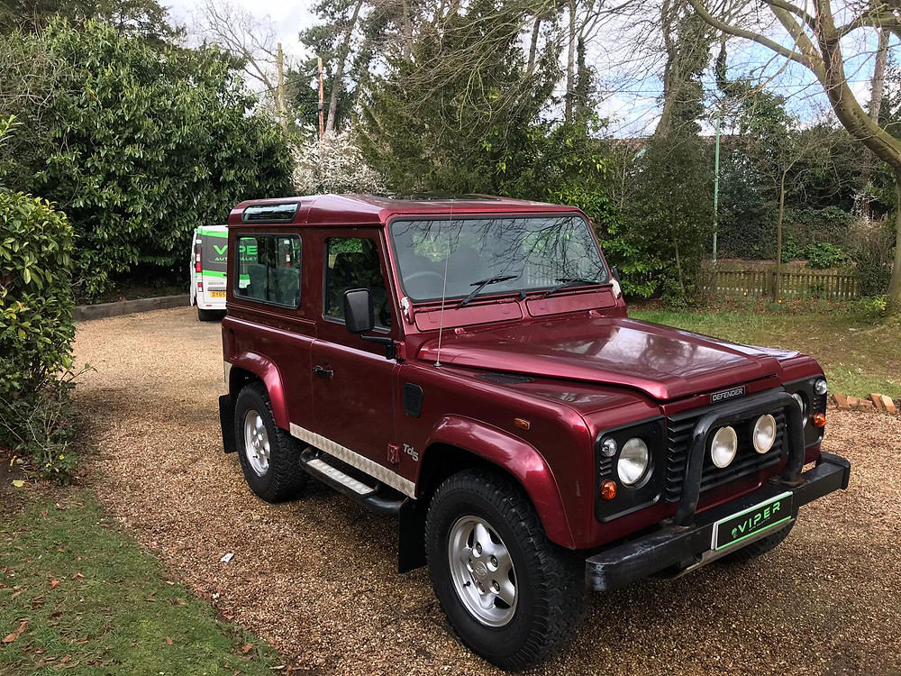 Suffolk Mobile Valet - 2000 LAND ROVER