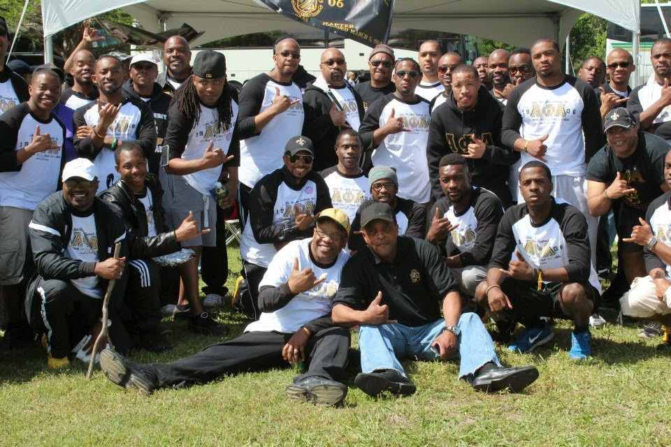 Members of Alpha Phi Alpha at March for Babies in Dallas