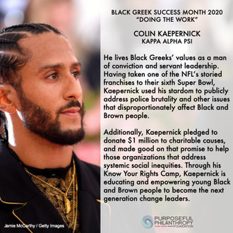Looking Back at Black Greek Success Month 2020